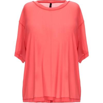 BEN TAVERNITI™ UNRAVEL PROJECT T シャツ レッド XS キュプラ 92% / ポリウレタン 8% T シャツ