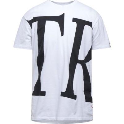 トゥルー レリジョン TRUE RELIGION メンズ Tシャツ トップス t-shirt White