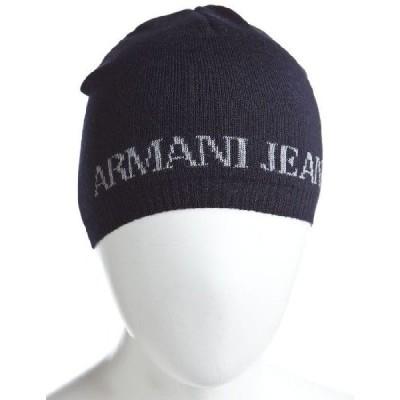 アルマーニジーンズ ARMANIJEANS ニットキャップ U6803 D1 SCP ネイビー