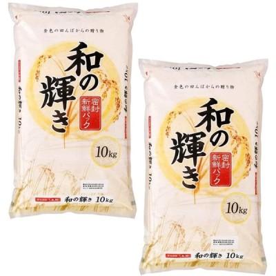 【精米】アイリスオーヤマ 和の輝き 低温製法米 10kg ×2個