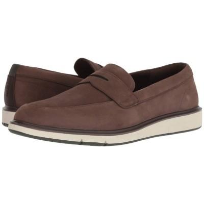 スウィムス SWIMS メンズ ローファー シューズ・靴 Motion Penny Loafer Brown/Olive
