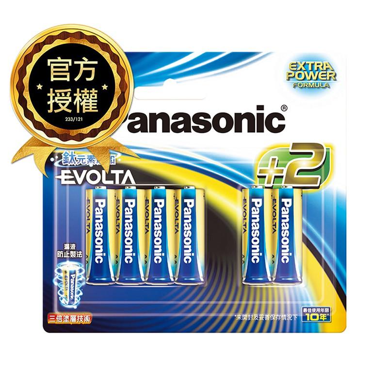 Panasoni國際牌Evolta鈦元素鹼性電池3號10入