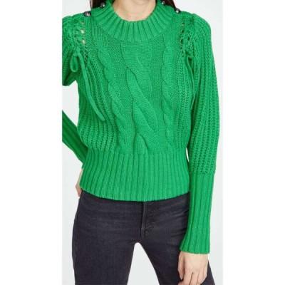 ムンテ MUNTHE レディース ニット・セーター トップス Turner Pullover Sweater Green