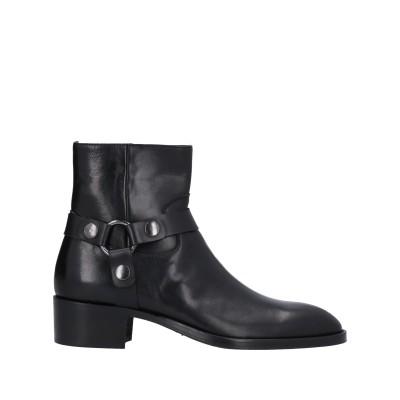 SANGUE ショートブーツ ブラック 44 牛革(カーフ) ショートブーツ