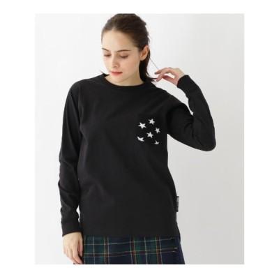 ベース コントロール BASE CONTROL 長袖 Tシャツ ニットポケット WEB限定 11255 (ブラック)