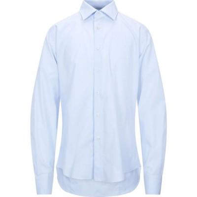 ブライアン デールズ BRIAN DALES メンズ シャツ トップス solid color shirt Sky blue