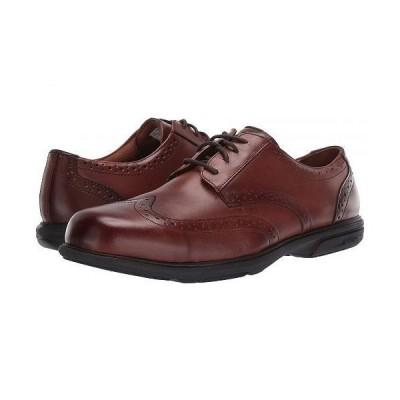 Florsheim Work メンズ 男性用 シューズ 靴 オックスフォード 紳士靴 通勤靴 Loedin Lace-Up - Brown
