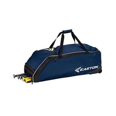 海外限定 EASTON E610W Bat & Equipment Wheeled Bag, Navy
