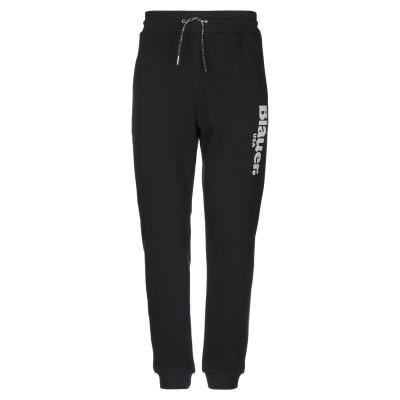 ブラウアー BLAUER パンツ ブラック L コットン 75% / ポリエステル 25% パンツ