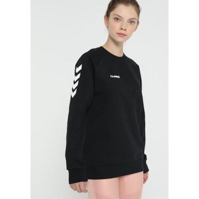 ヒュンメル パーカー・スウェットシャツ レディース アウター Sweatshirt - black