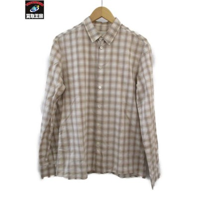 STEPHAN SCHNEIDER チェックシャツ[▼]
