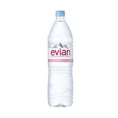 送料無料 evian(エビアン) 1.5Lペットボトル×12本入
