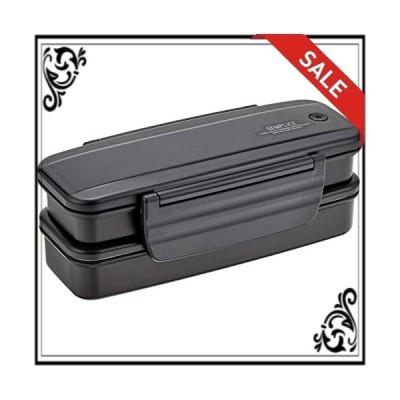 オーエスケー センプリチェ お弁当箱 2段 保冷バッグ付 BLW-16HF
