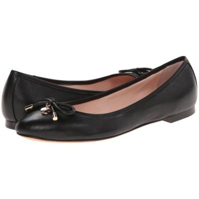 【残り1点!】【サイズ:8xM】ケイト スペード Kate Spade レディース シューズ・靴 スリッポン・フラット New York Willa Black Nappa Leather