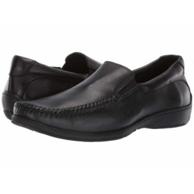 Johnston and Murphy ジョーンストンアンドマーフィー メンズ 男性用 シューズ 靴 ローファー Crawford Venetian Black【送料無料】