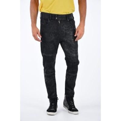 DIESEL/ディーゼル Black メンズ 16cm Printed SHIBUIA-NE Jeans dk