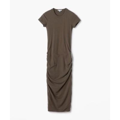 TOMORROWLAND / トゥモローランド ストレッチジャージー クルーネックドレス WJE6035