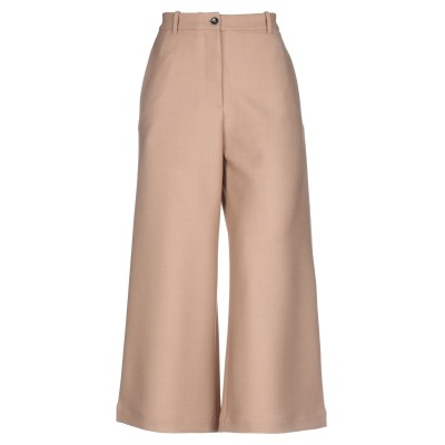 NINE:INTHE:MORNING パンツ キャメル 26 ポリエステル 53% / ウール 44% / ポリウレタン 3% パンツ