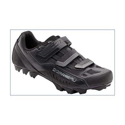 Louis Garneau - Men's Gravel Bike Shoes, Black, US (6), EU (39) 並行輸入品