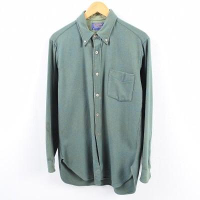 ペンドルトン PENDLETON ウールボタンダウンシャツ M /wbh1222