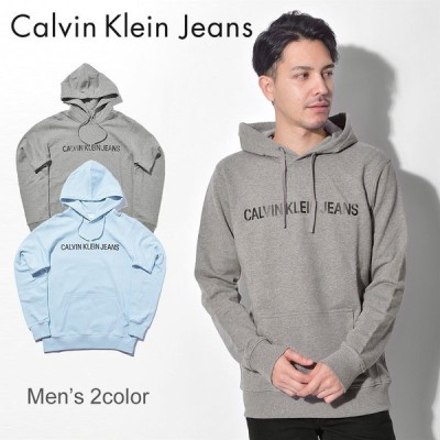 CALVIN KLEIN JEANS カルバンクライン パーカー メンズ フーディー ロゴ フーディー J30J309528 長袖