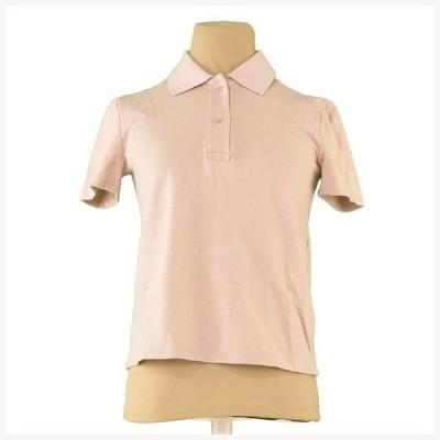 ミュウミュウ ポロシャツ 半袖 ♯Sサイズ バックプリント miu miu 中古