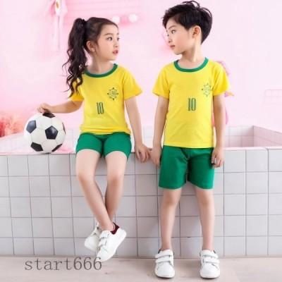 子供 半袖 パジャマ キッズ ルームウェア 上下セット 半袖 tシャツ ショートパンツ 2点セット 男の子 女の子 部屋着 子供服