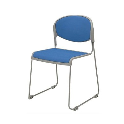 スタッキングチェア 送料無料 布張りタイプ 肘なしチェア オフィスチェア 会議室 説明会 セミナー オフィス家具 チェア 椅子 8120ZZ-FCC