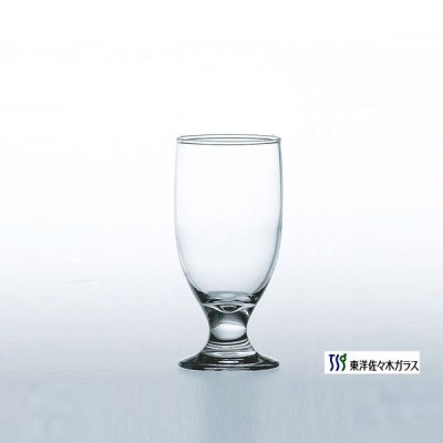 【東洋佐々木ガラス ジュースグラス】 35804HS ビヤーグラス (6個入)
