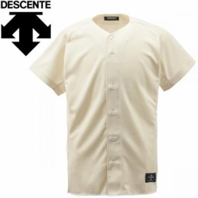 【メール便送料無料】デサント 野球 フルオープンシャツ メンズ STD-83TA-SIVO