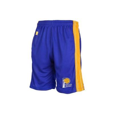マジェスティック アメリカ USA カレッジ 全米 リーグ バスケットボール NBA Majestic Indiana Pacers Boys ユース ネイビー ブルー 合皮 Panel ボトムス