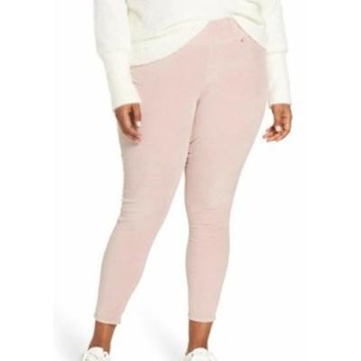 Jag Jeans ジャグジーンズ ファッション パンツ JAG Jeans NEW Pink Womens Size 3X Plus Marla Velvet Skinny Ankle Pants