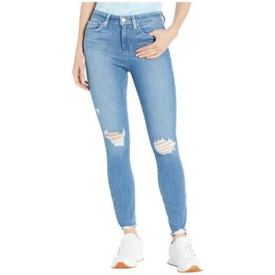 ペイジ ユニセックス パンツ Hoxton Ankle Jeans in Glacial Destruction w/ Eroded Hem