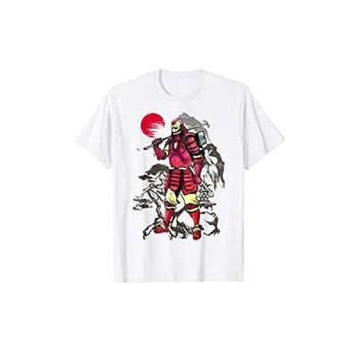 Marvel Iron Man Samurai Mountain Sunset Graphic T-Shirt