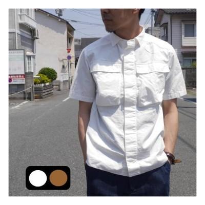 LOLO(ロロ) リップストップ半袖シャツ LS-336