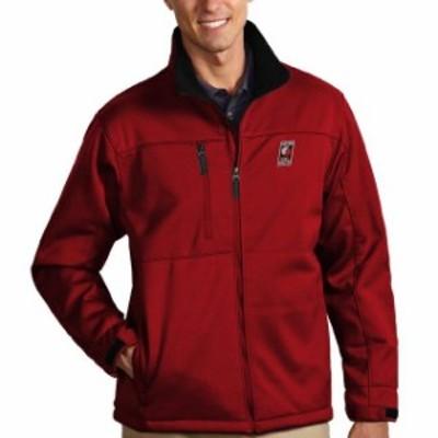 Antigua アンティグア スポーツ用品  Antigua Portland Trail Blazers Red Traverse Full Zip Bonded Jacket