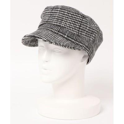 U.Q / チェックマリンキャスケット WOMEN 帽子 > キャスケット