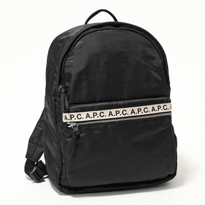 APC A.P.C. アーペーセー PAACL H62107 marc ナイロン リュックサック バックパック LZZ/NOIR 鞄 メンズ レディース