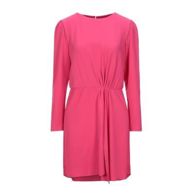 インペリアル IMPERIAL ミニワンピース&ドレス フューシャ S コットン 97% / ポリウレタン 3% ミニワンピース&ドレス