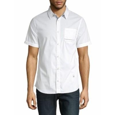 バファローデビッドビトン メンズ カジュアル ボタンダウンシャツ Savanisy Cotton Button-Down Shirt