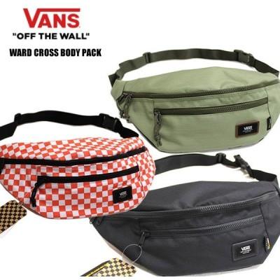 VANS バンズ ボディバック ウエストポーチ  WARDCROSS BODY PACK 17465 ヴァンズ 小物