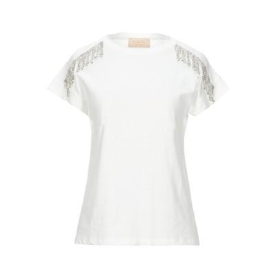 KAOS JEANS T シャツ ホワイト XS コットン 100% T シャツ