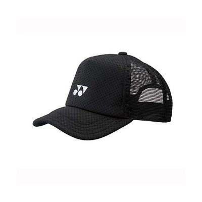 YONEX ヨネックス メッシュキャップ 40007  007 ラケットスポーツ アパレルアクセサリー ブラック