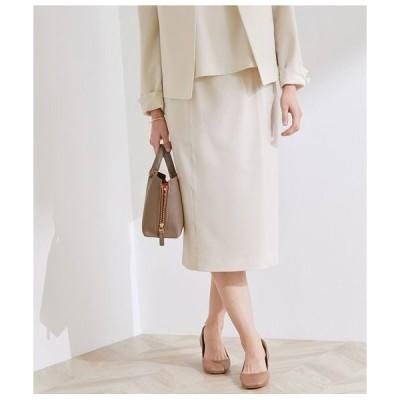 ROPE' / ロペ 【洗える】【オフィス/お仕事】ステッチ入りタイトスカート(セットアップ対応)