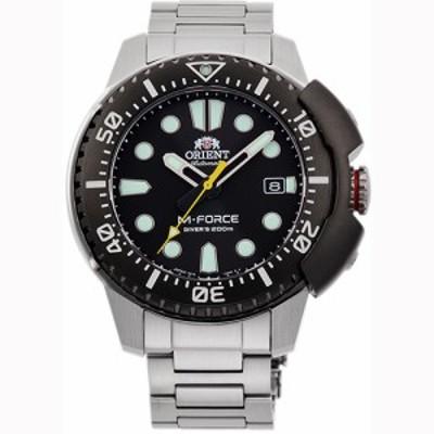 オリエント RN-AC0L01B(ブラック) スポーツ 自動巻き(手巻き付き) 腕時計(メンズ)