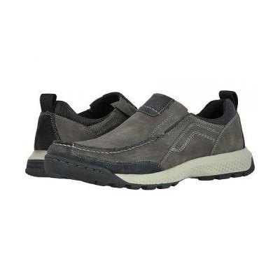 Dockers ドッカーズ メンズ 男性用 シューズ 靴 スニーカー 運動靴 Albright - Charcoal Distressed Synthetic