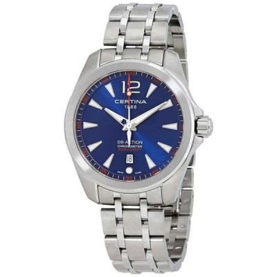 腕時計 サーチナ メンズ Certina DS Action Blue Dial Men's Watch C032.851.11.047.00