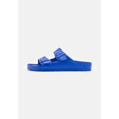 ビルケンシュトック サンダル メンズ シューズ ARIZONA - Pool slides - ultra blue