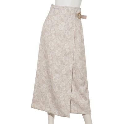 ジャガードプリントタイトスカート