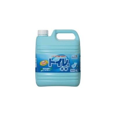 ミツエイ スマイルチョイス トイレ用洗剤 ミントの香り 4L 業務用